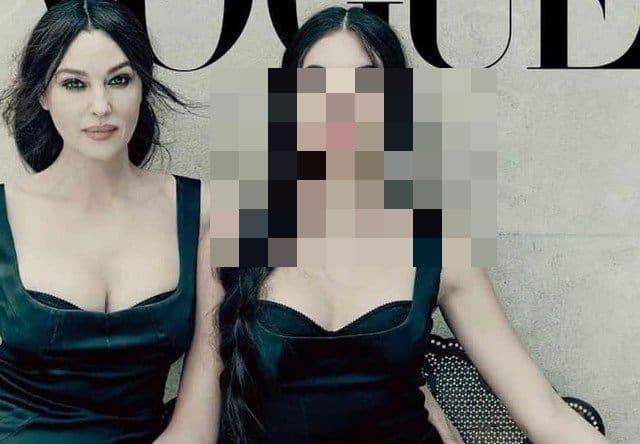 56-летняя Моника Беллуччи с своей дочерью в Vogue Italia