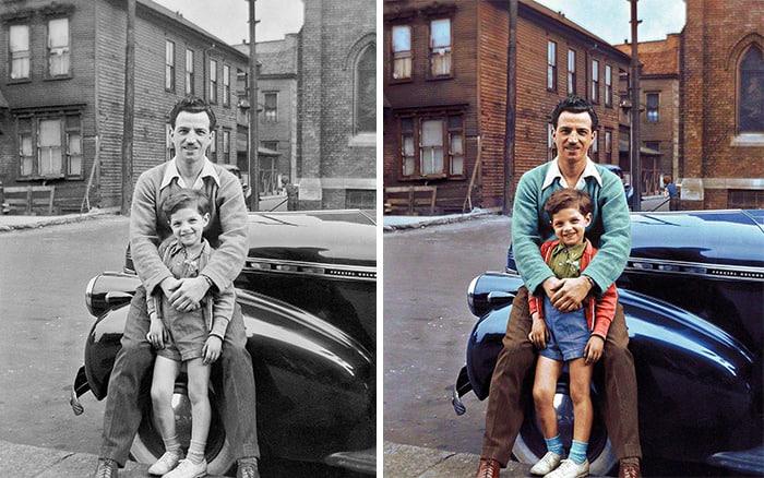 30+ старых фото, которые обрели цвет, и унесут вас в прошлое, как на машине времени!