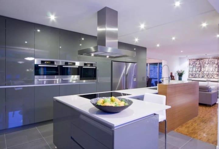 Кухня в современном стиле: направления, идеи, фотографии