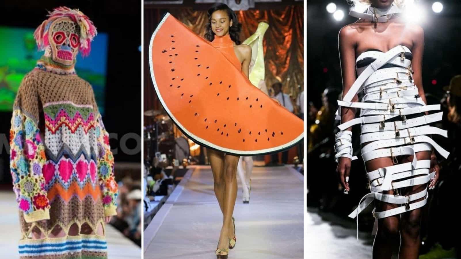 Когда наряд придуман в психушке: наглядные примеры откуда дизайнеры одежды черпают вдохновение