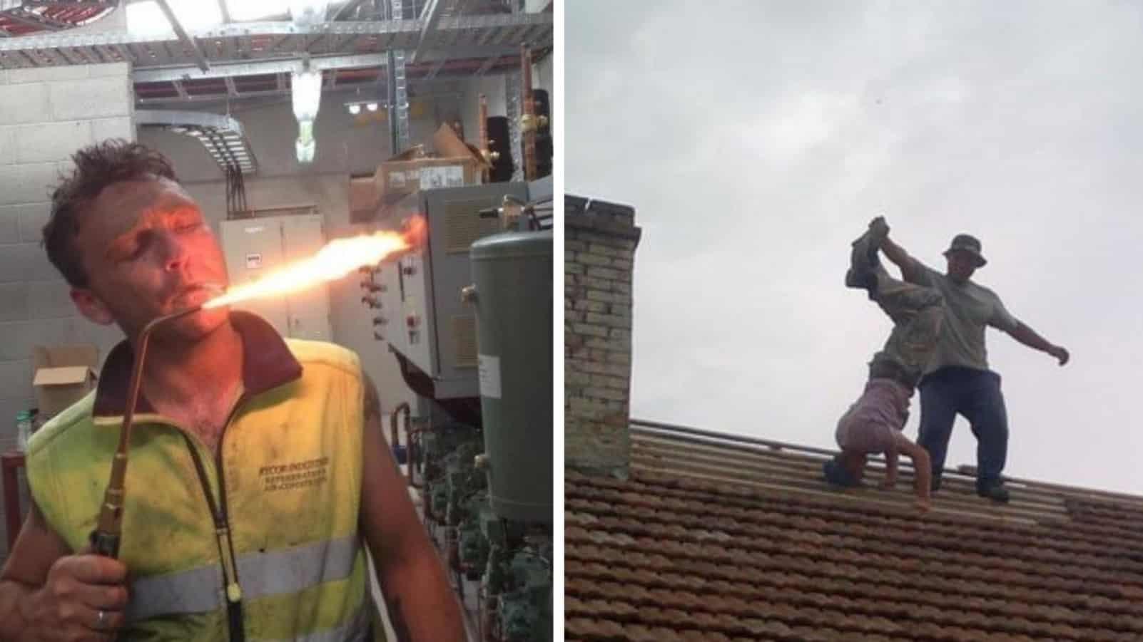 Отряд самоубийц или 17 строителей которые каждый день ходят по лезвию ножа