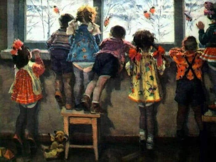 Детство на холсте: картины  из СССР от которых щемит на душе