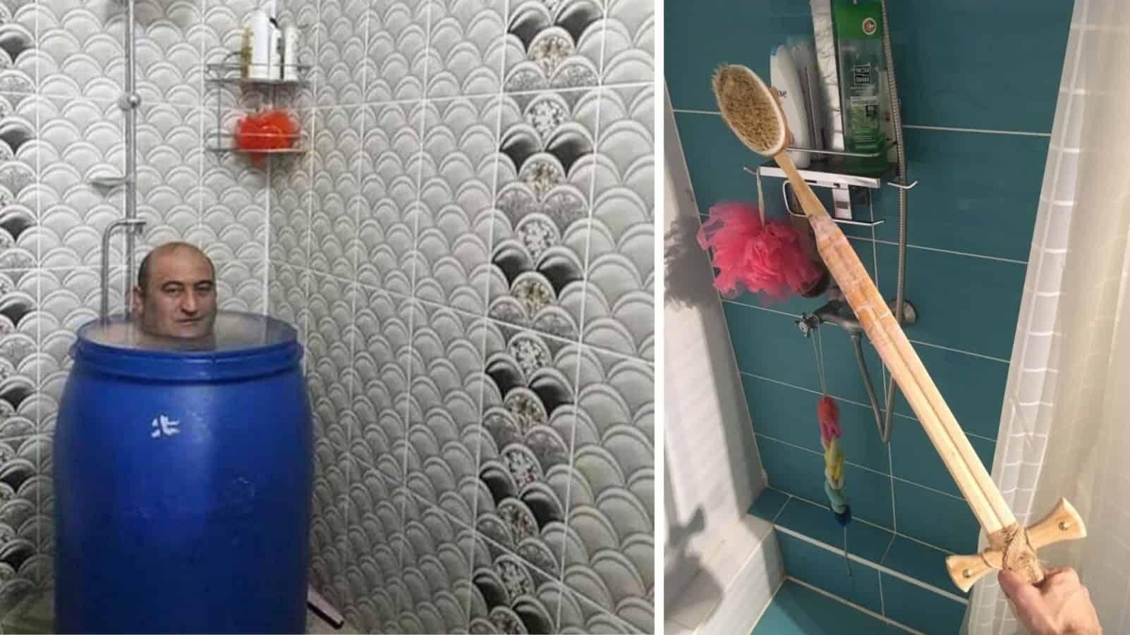 От смешных, до позорных: приспособления которые можно обнаружить в ванных комнатах