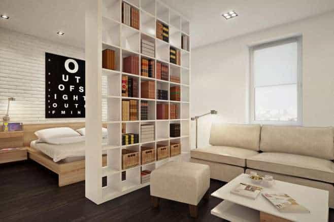 Дизайнерские хитрости: как из одной комнаты сделать две, не навредив интерьеру