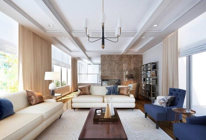 Дизайн комнаты по назначению: примеры спален, кабинетов и гостиных разных форм, стилей и интерьеров