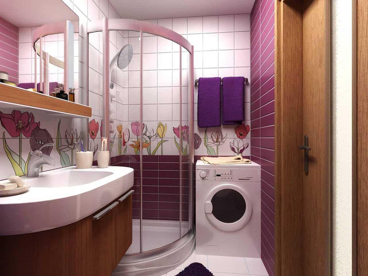 """Ванная комната в """"хрущевке"""": самые правильные и верные решения ремонта"""