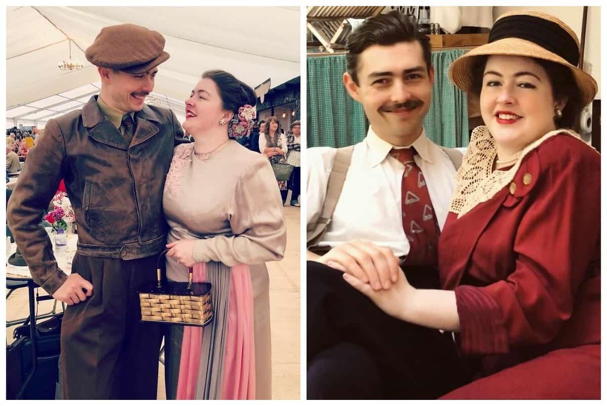 Пользователи Сети в восторге от пары, которая живет так, будто сейчас 1930-е годы (20 фотографий)