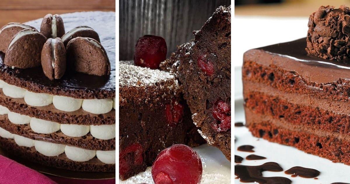 8 рецептов самых вкусных шоколадных тортов