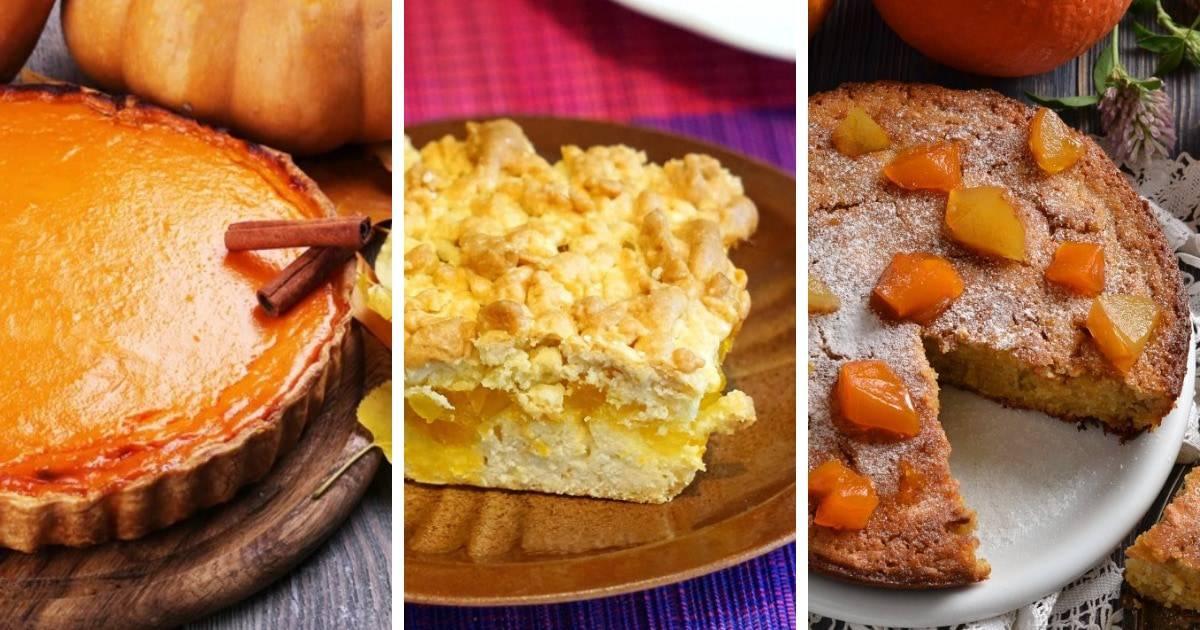 От вкусных до очень вкусных: 8 простых рецептов тыквенного пирога