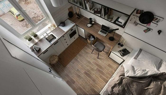 В Москве появились микро-апартменты площадью 9 квадратных метров